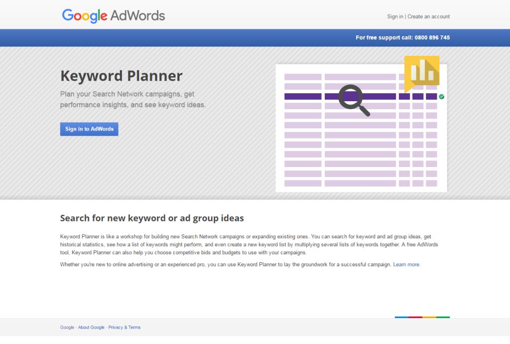 alternative to google keyword planner
